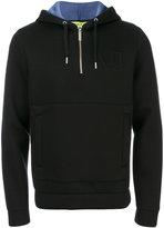 Versace zip front hoodie - men - Cotton/Viscose - S