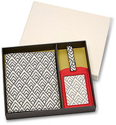 Fossil Keely Geometric Passport Case & Luggage Tag Set