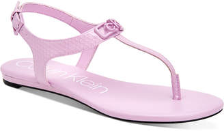 Calvin Klein Shamary Flat Sandals Women Shoes