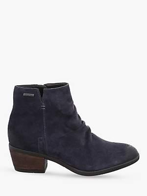 Josef Seibel Daphne 50 Block Heel Ankle Boots, Jeans
