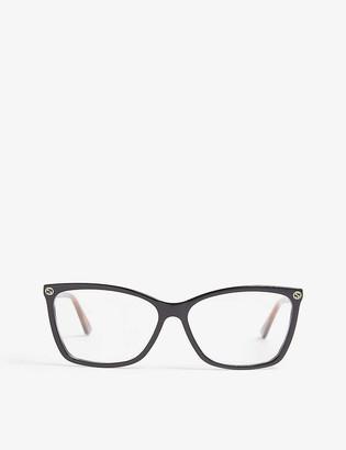 Gucci GG0025o oval sunglasses