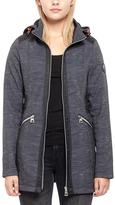 Point Zero Black Zip-Pocket Hooded Jacket
