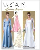 Mccall's M4450 Misses'/Miss Petite Unlined/Lined Shrugs and Dress