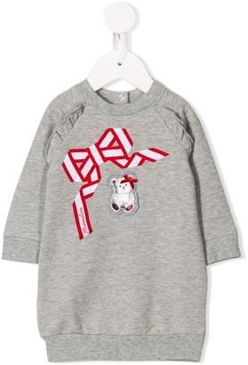 MonnaLisa Front Patch Sweatshirt