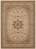 "Kenneth Mink Km Home Area Rug, Princeton Ardebil Cream 7'10"" x 10'2"