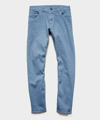 Todd Snyder Straight Fit 5-Pocket Chino In Club Blue