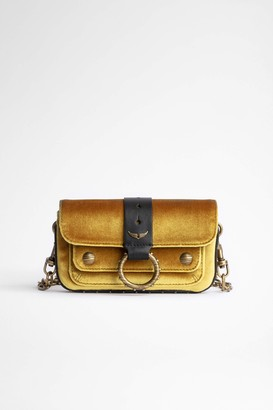 Zadig & Voltaire Kate Wallet Velvet Bag