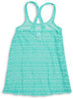 Gossip Girl Girls 7-16 Girls Cut-Out Sleeveless Cover-Up Dress