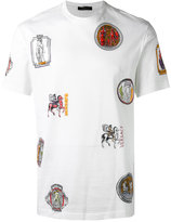 Versace Ancient Greek print T-shirt - men - Cotton - M