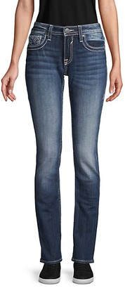 Vigoss Straight-Leg Stretch Jeans
