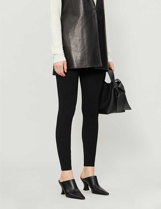 Spanx Ponte high-rise stretch-woven leggings