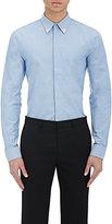 Givenchy Men's Embellished-Collar Shirt-LIGHT BLUE