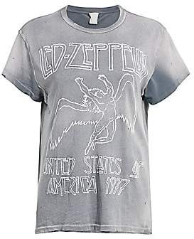 MadeWorn Women's Led Zeppelin United States of America Graphic Tee
