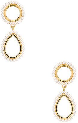 Luv Aj Mini Peony Pearl Earrings
