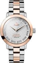 Vivienne Westwood VV152RSSL Bloomsbury silver rose-gold watch