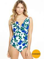 Very Controlwear Underwired Drape Swimsuit