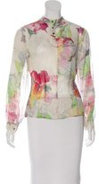 Ted Baker Silk Floral Print Blouse