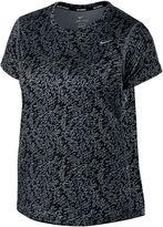 Nike Miler Crew Short-Sleeve Tee - Plus