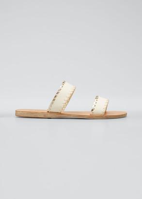 Ancient Greek Sandals Melia Stitch Two Strap Sandals
