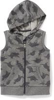 Old Navy Sleeveless Full-Zip Hoodie for Toddler Boys