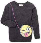 Jessica Simpson Girls 7-16) Sequin Purse Sweatshirt