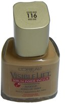 L'Oreal Paris Visible Lift Line-minimizing and Tone-enhancing Makeup - Normal/dry Skin, 116, Golden Beige (Pack of 3)