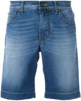 Jacob Cohen wide jean shorts - men - Cotton/Polyester/Spandex/Elastane - 35