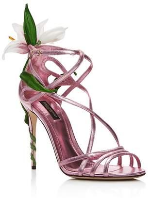 Dolce & Gabbana Women's High-Heel Sandals