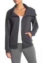 Zella Z By Full Effect Fleece Zip Up Jacket