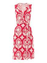 kelly ripa  Who made  Kelly Ripas pink and white print dress?