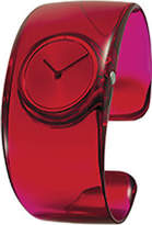 Issey Miyake Women's Watch O SILAW004 Watch - Red Analog Watches