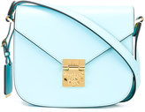 MCM fold-over closure crossbody bag - women - Calf Leather - One Size