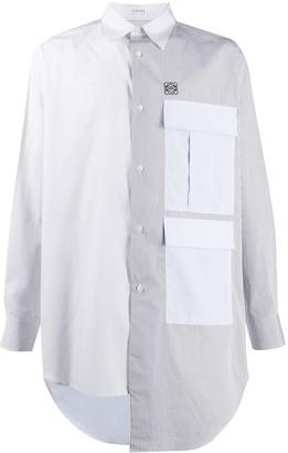 Loewe Asymmetric Panelled Shirt