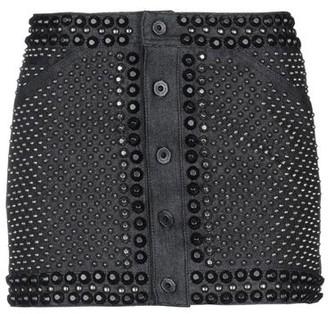 Diesel Black Gold Denim skirt