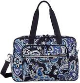 Vera Bradley Iconic Deluxe Weekender Travel Bag (Deep Night Paisley) Bags