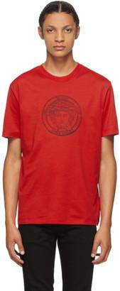 Versace Red Medusa Taylor T-Shirt