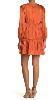 Abound Long Sleeve Tiered Dress