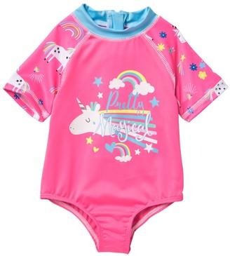 Wippette Unicorn Rainbow Creeper (Baby Girls 9-18M)