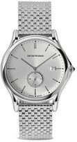 Emporio Armani Swiss Made Stainless Steel Watch, 40mm