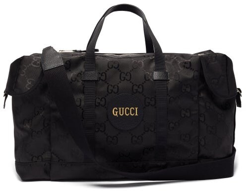 Gucci Off The Grid Gg-jacquard Canvas Holdall - Black