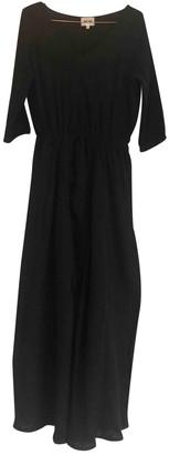 Bel Air Black Cotton Dress for Women