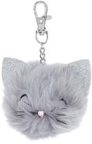 Accessorize Chloe Cat Pom Pom Bag Charm