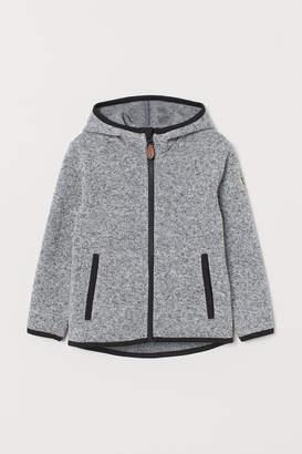 H&M Knit Fleece Jacket