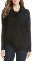 Karen Kane Cowl Neck Pick-Up Hem Top