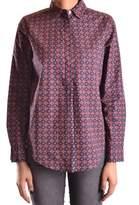 Peuterey Women's Multicolor Cotton Shirt.