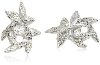 FLAKE Karolina Bik Jewellery Earrings Silver