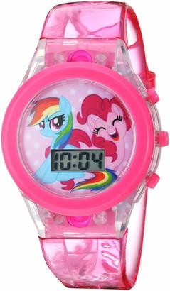 My Little Pony Girls' Quartz Watch with Plastic Strap