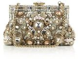 Dolce & Gabbana Embellished Velvet Top-Handle Bag