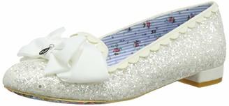 Irregular Choice Women Sulu Wedding Shoes White (White W) 6 UK