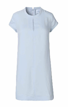 Libertine-Libertine Light Blue Open Dress - S - Blue